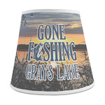 Gone Fishing Empire Lamp Shade (Personalized)