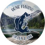 Gone Fishing Melamine Plate (Personalized)