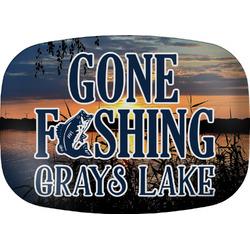 Gone Fishing Melamine Platter (Personalized)