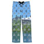 Gone Fishing Mens Pajama Pants (Personalized)