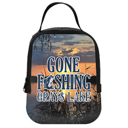 Gone Fishing Neoprene Lunch Tote (Personalized)