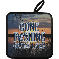 Gone Fishing Pot Holder (Personalized)