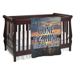 Gone Fishing Baby Blanket (Personalized)