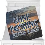 Gone Fishing Minky Blanket (Personalized)