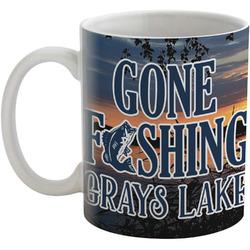 Gone Fishing Coffee Mug (Personalized)