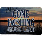 Gone Fishing Comfort Mat (Personalized)