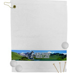 Gone Fishing Golf Towel (Personalized)