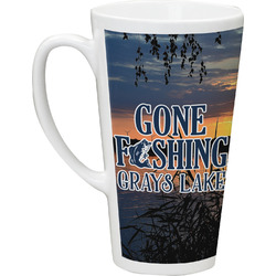 Gone Fishing Latte Mug (Personalized)