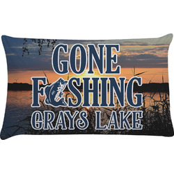 Gone Fishing Pillow Case (Personalized)
