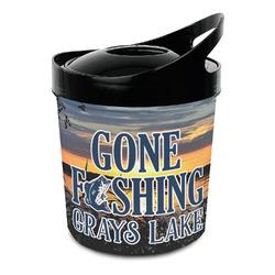 Gone Fishing Plastic Ice Bucket (Personalized)