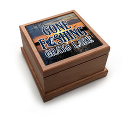 Gone Fishing Pet Urn (Personalized)
