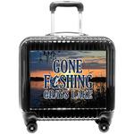 Gone Fishing Pilot / Flight Suitcase (Personalized)