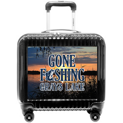 Gone Fishing Pilot / Flight Suitcase (Personalized)