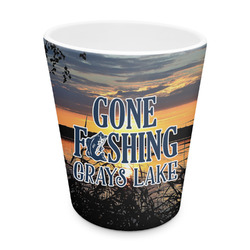 Gone Fishing Plastic Tumbler 6oz (Personalized)