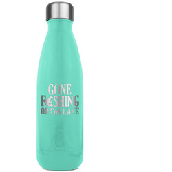 Hunting / Fishing Quotes and Sayings RTIC Bottle - Teal (Personalized)