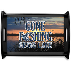 Gone Fishing Wooden Trays (Personalized)
