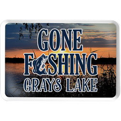 Gone Fishing Serving Tray (Personalized)