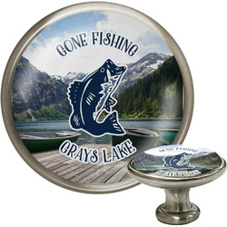 Gone Fishing Cabinet Knobs (Personalized)
