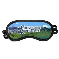 Gone Fishing Sleeping Eye Mask (Personalized)