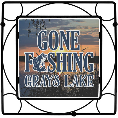Gone Fishing Trivet (Personalized)
