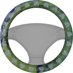 Gone Fishing Steering Wheel Cover (Personalized)