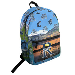 Gone Fishing Student Backpack (Personalized)