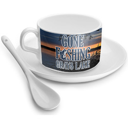 Gone Fishing Tea Cups (Personalized)