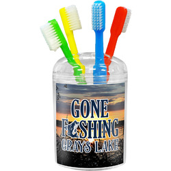 Gone Fishing Toothbrush Holder (Personalized)