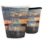 Gone Fishing Waste Basket (Personalized)