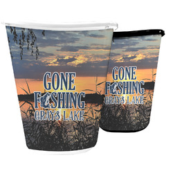 Gone Fishing Waste Basket (Personalized)