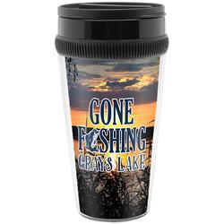 Gone Fishing Travel Mugs (Personalized)