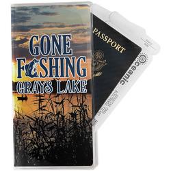 Gone Fishing Travel Document Holder
