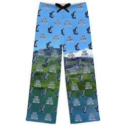 Gone Fishing Womens Pajama Pants (Personalized)