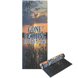 Gone Fishing Yoga Mat - Printable Front and Back (Personalized)