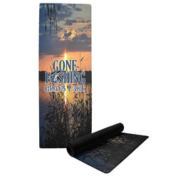Gone Fishing Yoga Mat (Personalized)