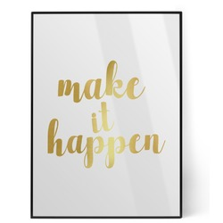 Inspirational Quotes and Sayings Foil Print (Personalized)