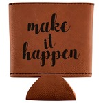 Inspirational Quotes and Sayings Leatherette Can Sleeve (Personalized)