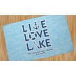 Live Love Lake Area Rug (Personalized)