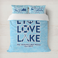 Live Love Lake Duvet Covers (Personalized)