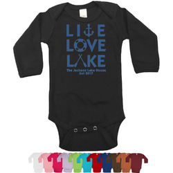 Live Love Lake Bodysuit - Long Sleeves - 12-18 months (Personalized)