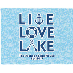 Live Love Lake Placemat (Fabric) (Personalized)