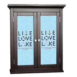 Live Love Lake Cabinet Decal - Custom Size (Personalized)