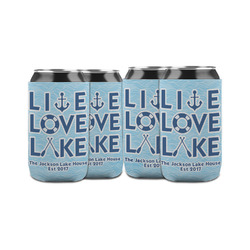Live Love Lake Can Sleeve (12 oz) (Personalized)