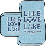 Live Love Lake Car Floor Mats (Personalized)