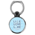 Live Love Lake Cell Phone Ring Stand & Holder (Personalized)