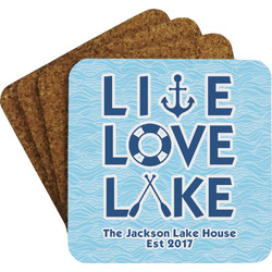 Live Love Lake Coaster Set (Personalized)