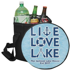 Live Love Lake Collapsible Cooler & Seat (Personalized)