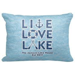 Live Love Lake Decorative Baby Pillowcase - 16