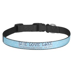 Live Love Lake Dog Collar (Personalized)