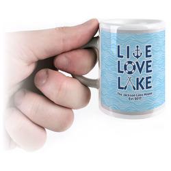 Live Love Lake Espresso Cups (Personalized)